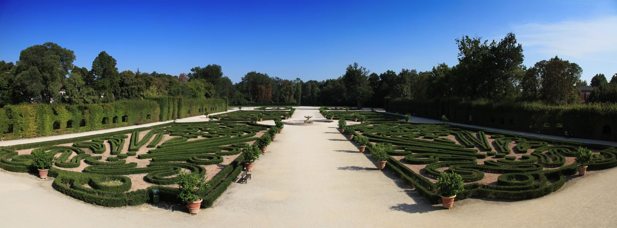 Panoramica del parco - Albertobru - Colorno (PR)