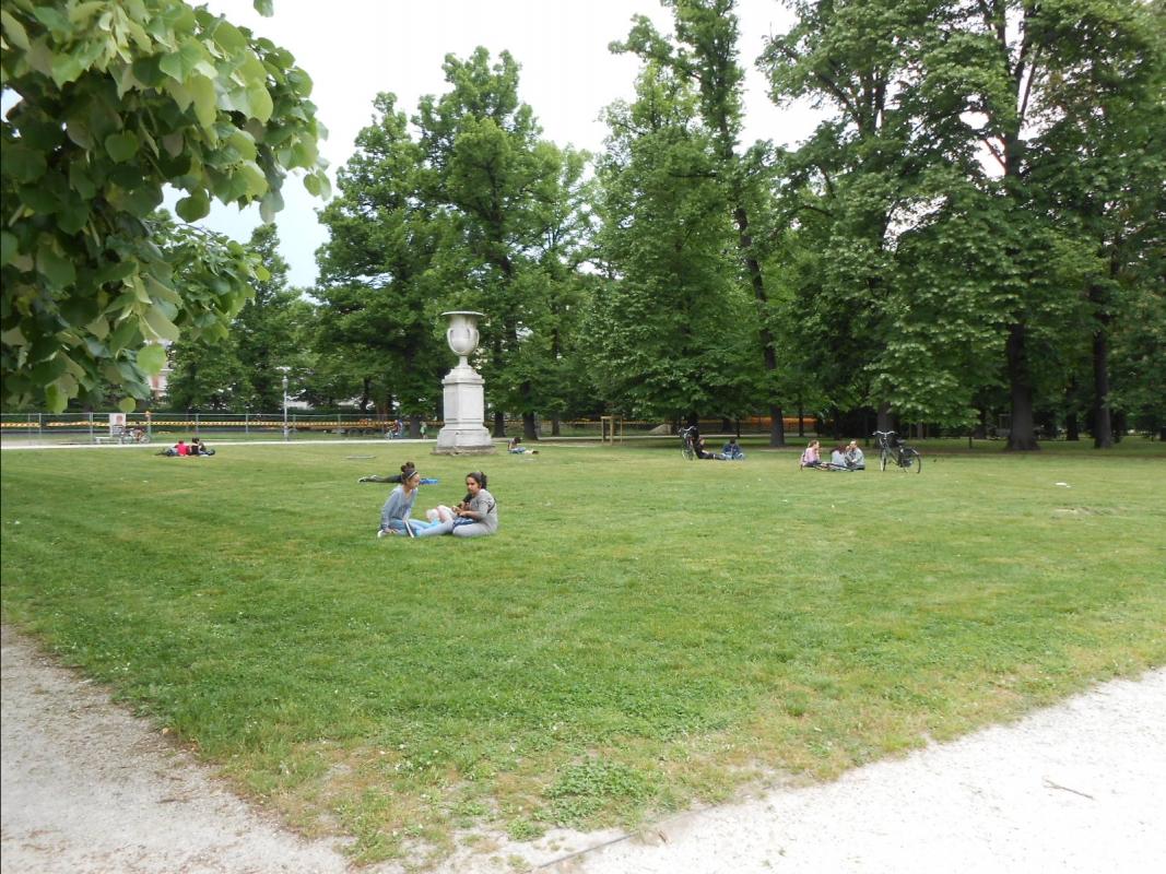 Parco Ducale a Parma (prato) - Cristina Guaetta - Parma (PR)