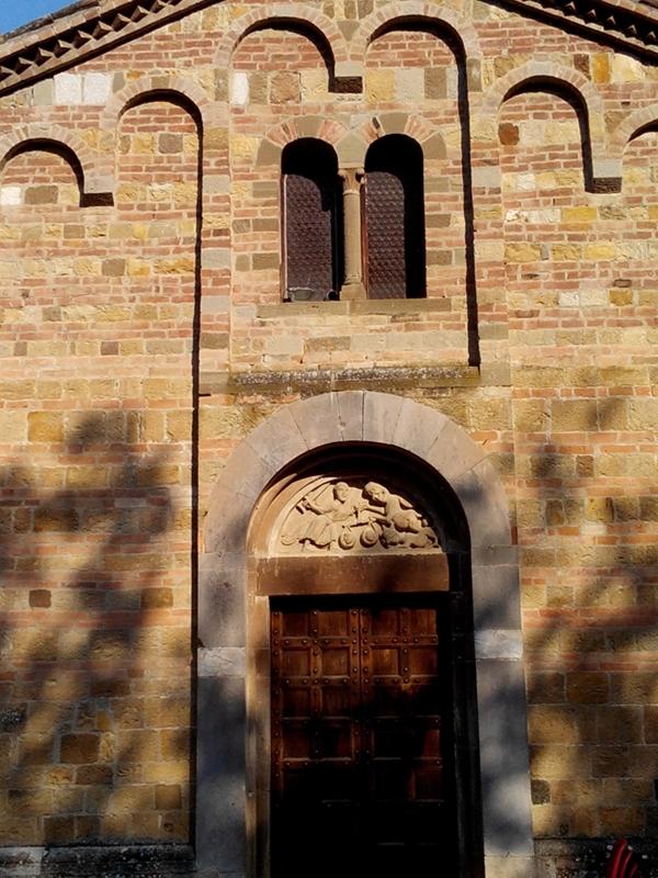Pieve Romanica di San Biagio, facciata - Valerioberta - Sala Baganza (PR)
