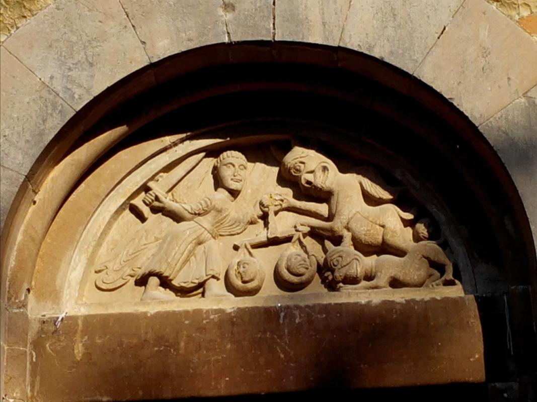 Pieve Romanica di San Biagio lunetta - Valerioberta - Sala Baganza (PR)