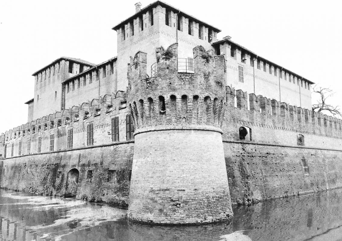 La Rocca in B&W - Pier Luigi Dodi - Fontanellato (PR)