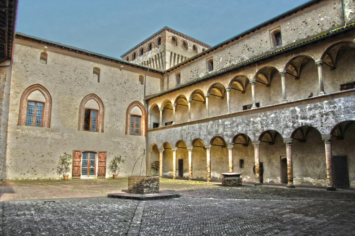 Interno del castello di torrechiara - Stemerlo77 - Langhirano (PR)