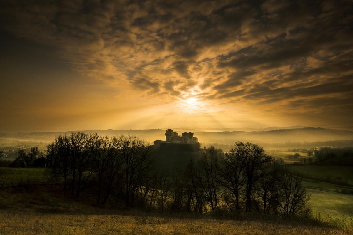 Torrechiara luci al tramonto - Lara zanarini - Langhirano (PR)