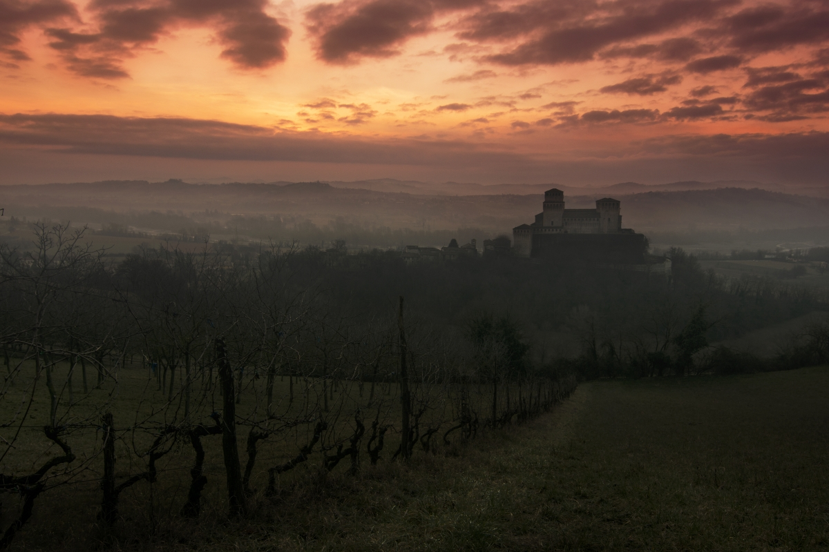 Torrechiara tramonto - Lara zanarini - Langhirano (PR)