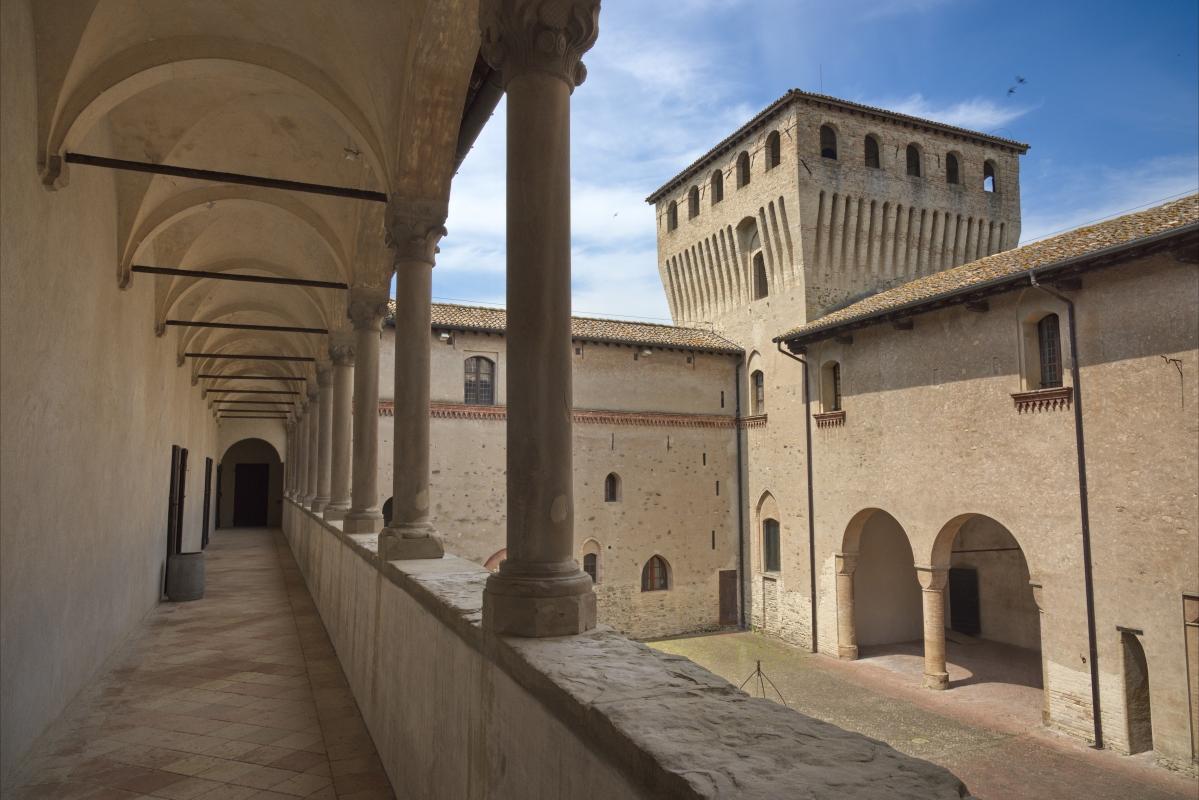 Castello di Torrechiara, Loggia Est - Enrico Robetto - Langhirano (PR)