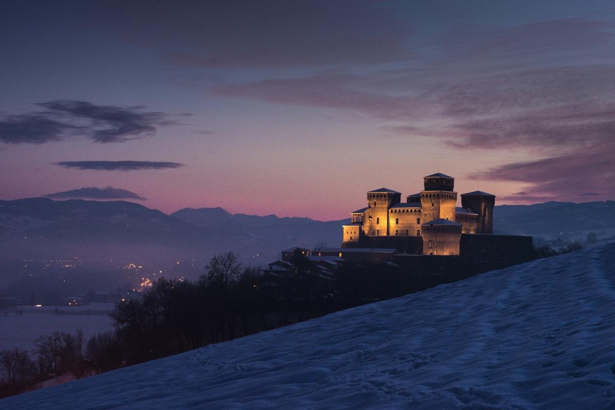 Torrechiara al tramonto - Luchi73 - Langhirano (PR)