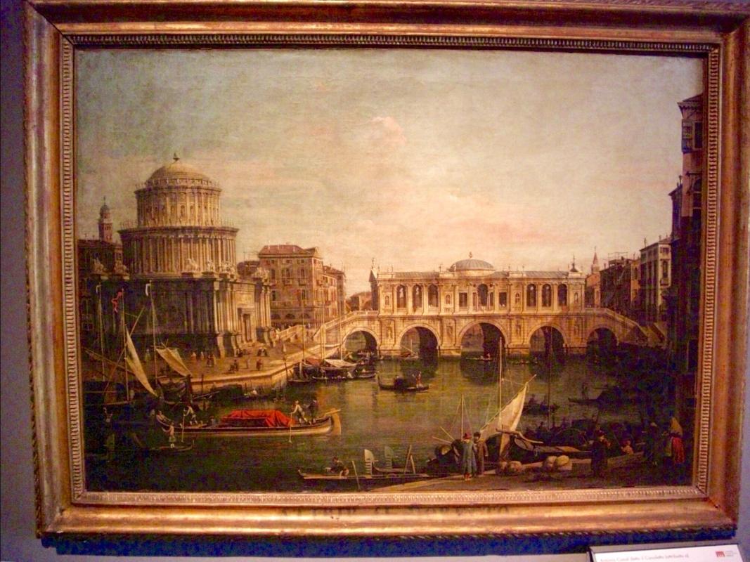 """Canaletto """"Capriccio con edifici palladiani"""" - Clawsb - Parma (PR)"""