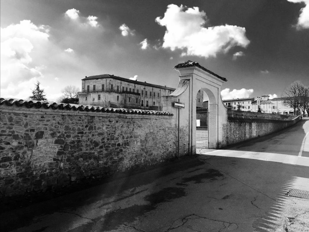 Rocca Sanvitale in B&W - Pier Luigi Dodi - Sala Baganza (PR)