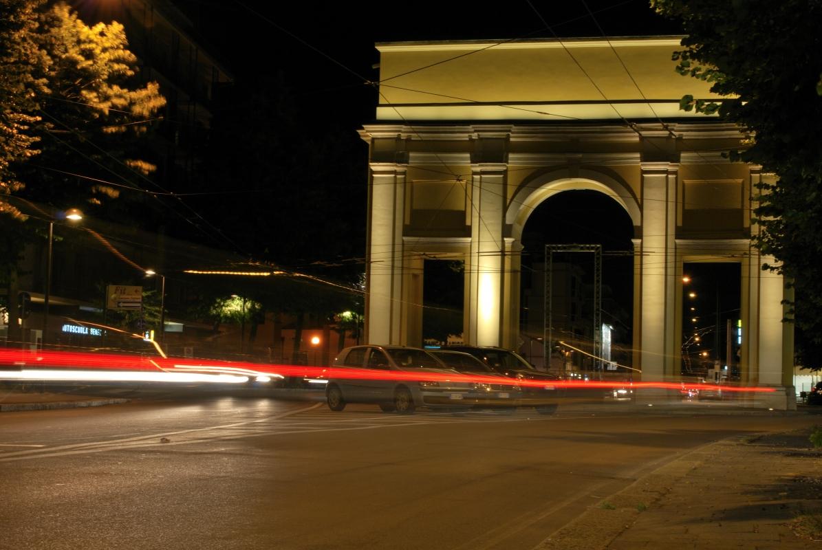 Arco di San Lazzaro in notturna - Parma - Davide Fornari - Parma (PR)