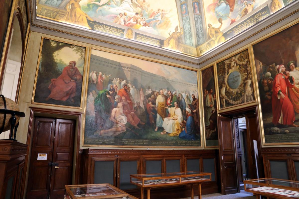 Parma, biblioteca palatina, sala di dante, decorata da francesco scaramuzza, 1843-57, 05 - Sailko - Parma (PR)