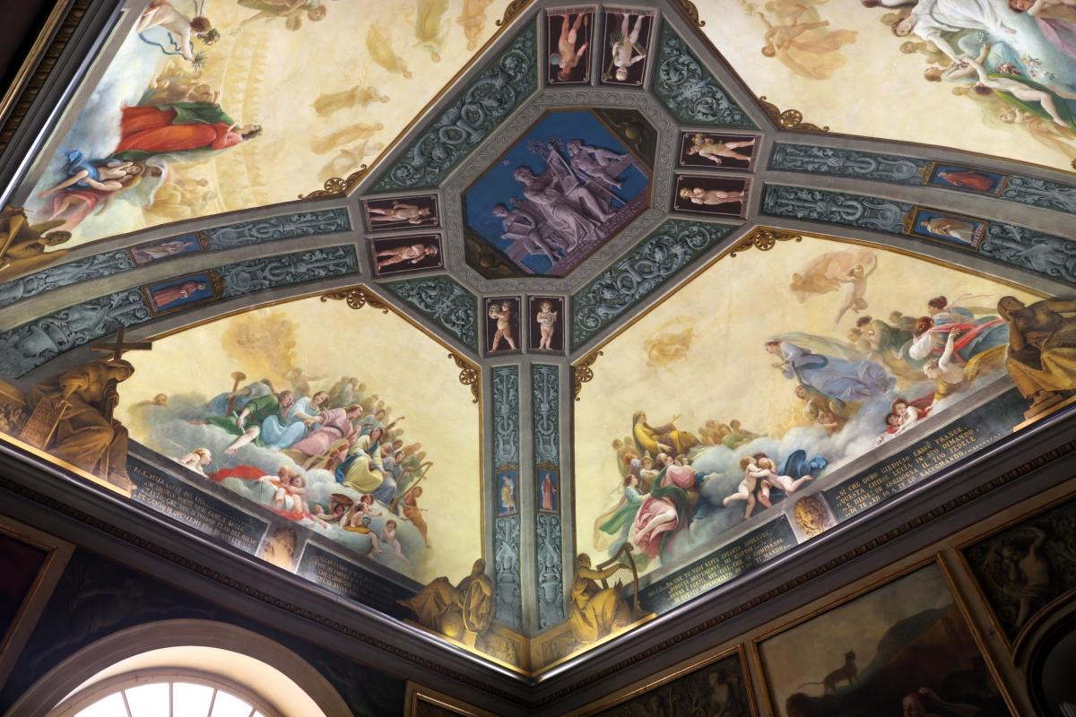 Parma, biblioteca palatina, sala di dante, decorata da francesco scaramuzza, 1843-57, 02 - Sailko - Parma (PR)