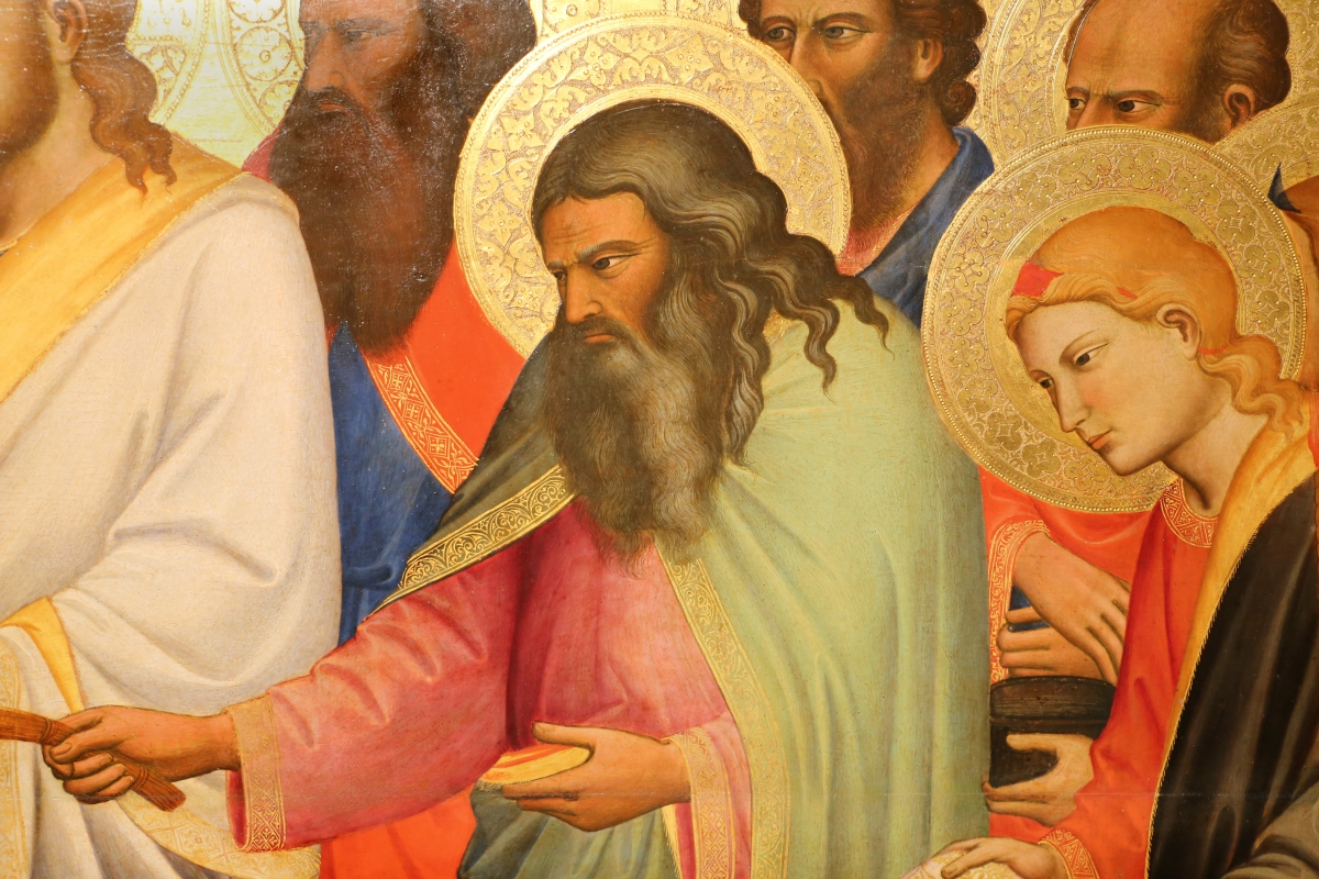 Niccolò di pietro gerini, Dormitio e Assunzione della Vergine, 1370-75 circa (parma, gn) 06 - Sailko - Parma (PR)