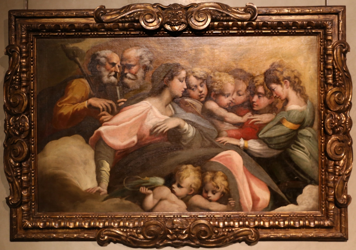 Parmigianino (ambito), matrimonio mistico di santa caterina d'alessandria, 1524 ca. 01 - Sailko - Parma (PR)