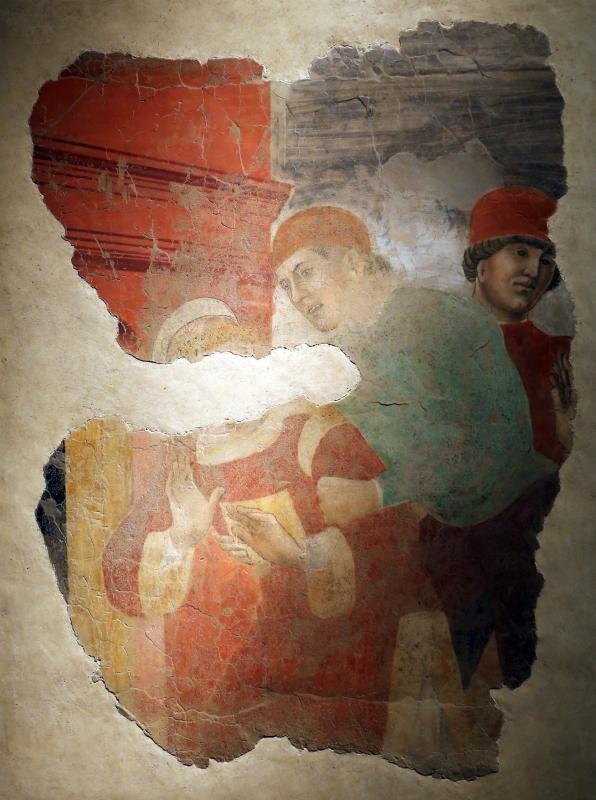 Maestro di roccabianca, san lorenzo condotto in carcere, 1460-70 ca., da s. pietro martire a parma - Sailko - Parma (PR)