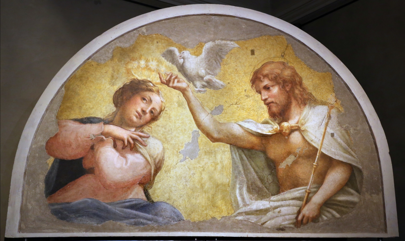 Correggio incoronazione della vergine, 1522 ca., da san giovanni evangelista, 01 - Sailko - Parma (PR)