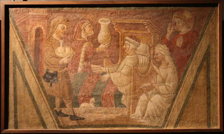 Scuola parmense, opere di misericordia, 1450 ca., visitare i malati - Sailko - Parma (PR)