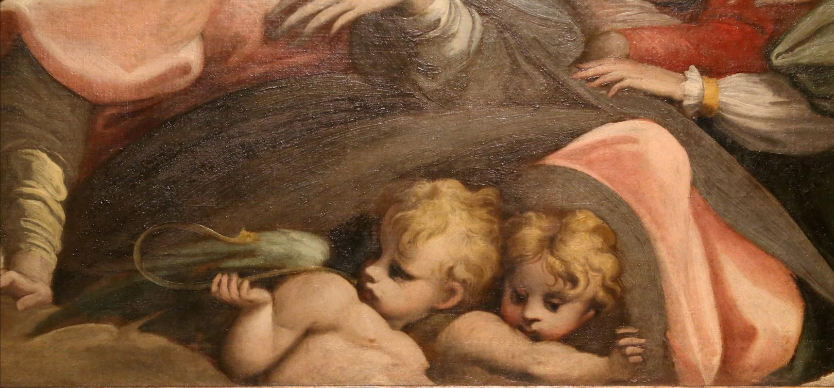 Parmigianino (ambito), matrimonio mistico di santa caterina d'alessandria, 1524 ca. 04 angioletti - Sailko - Parma (PR)