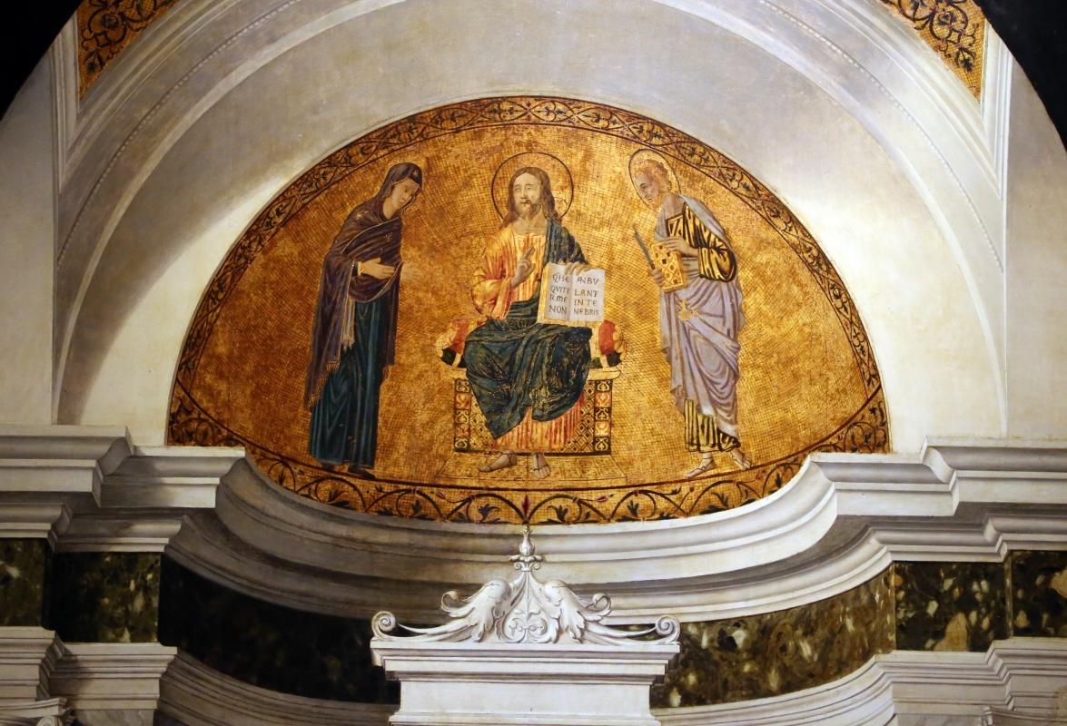 Cima da conegliano, sacra conversazione del duomo di prma, 1507 ca. 02 finto mosaico - Sailko - Parma (PR)
