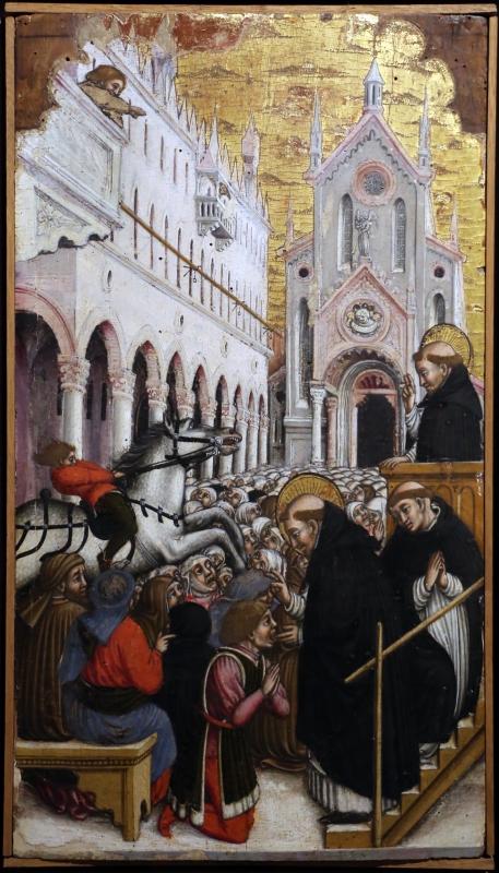 Agnolo e bartolomeo degli erri, polittico di san pietro martire, 1460-90 ca., da s. domenico a modena, 04 - Sailko - Parma (PR)