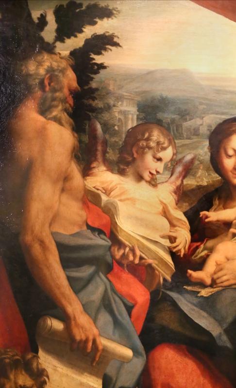 Correggio, madonna di san girolamo, o il giorno, 1528 ca. 02 - Sailko - Parma (PR)