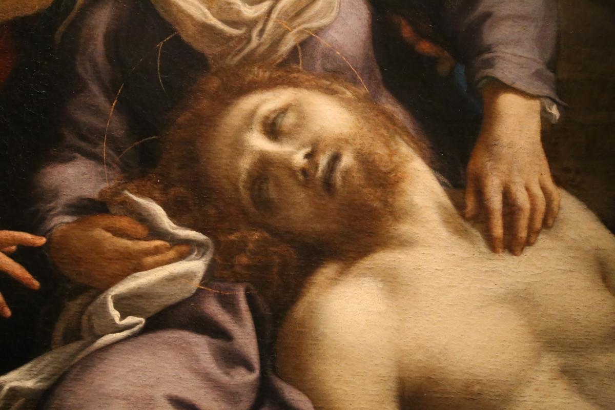 Correggio, compianto sul cristo morto, 1524 ca. 04 - Sailko - Parma (PR)
