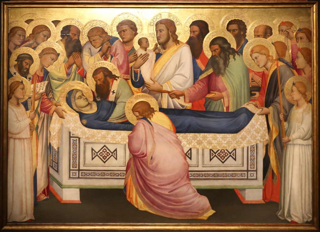 Niccolò di pietro gerini, Dormitio e Assunzione della Vergine, 1370-75 circa (parma, gn) 03 - Sailko - Parma (PR)