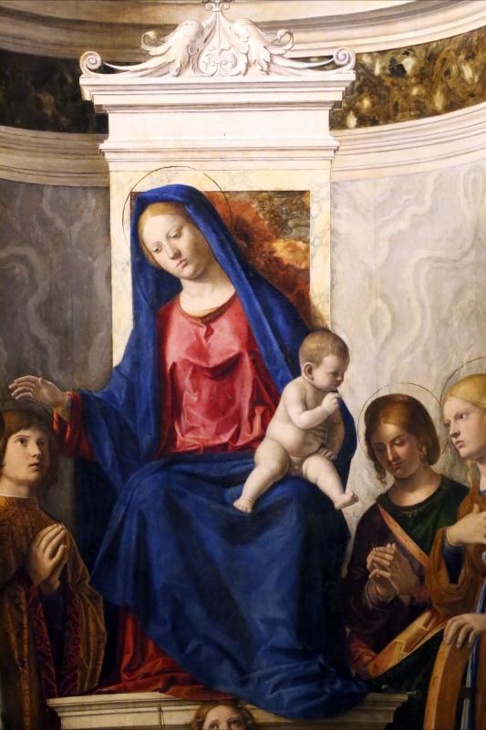 Cima da conegliano, sacra conversazione del duomo di prma, 1507 ca. 03 - Sailko - Parma (PR)