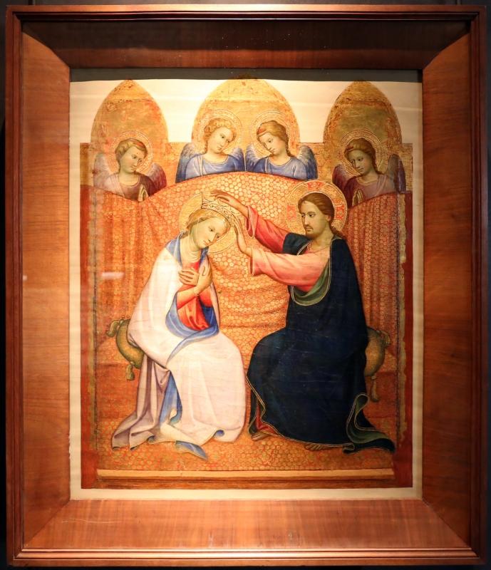 Gherardo starnina, incoronazione della vergine e angeli, 1400-10 ca. 01 - Sailko - Parma (PR)