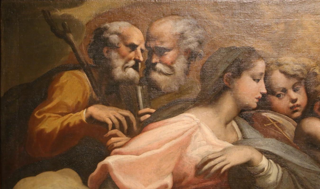 Parmigianino (ambito), matrimonio mistico di santa caterina d'alessandria, 1524 ca. 02 - Sailko - Parma (PR)