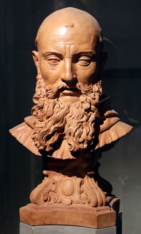 Antonio begarelli, testa di san benedetto, 1588 ca - Sailko - Parma (PR)
