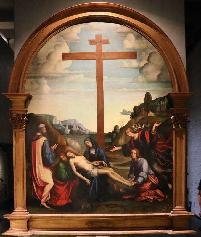 Francesco francia, compianto sul cristo morto, 1510-15 ca - Sailko - Parma (PR)