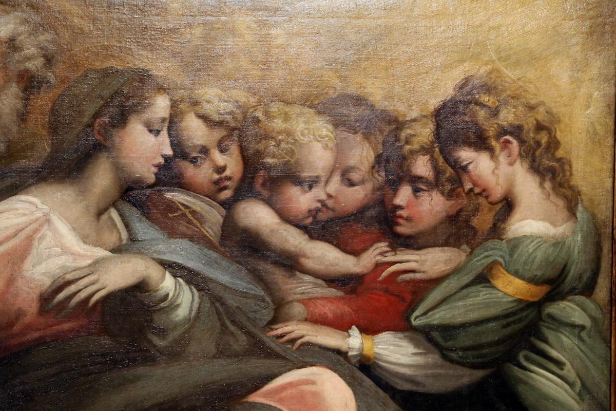 Parmigianino (ambito), matrimonio mistico di santa caterina d'alessandria, 1524 ca. 03 - Sailko - Parma (PR)