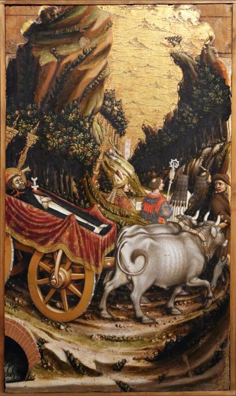 Agnolo e bartolomeo degli erri, polittico di san pietro martire, 1460-90 ca., da s. domenico a modena, 07,1 - Sailko - Parma (PR)