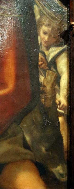 Correggio, madonna della scodella (riposo durante la fuga in egitto), 04 angelo - Sailko - Parma (PR)