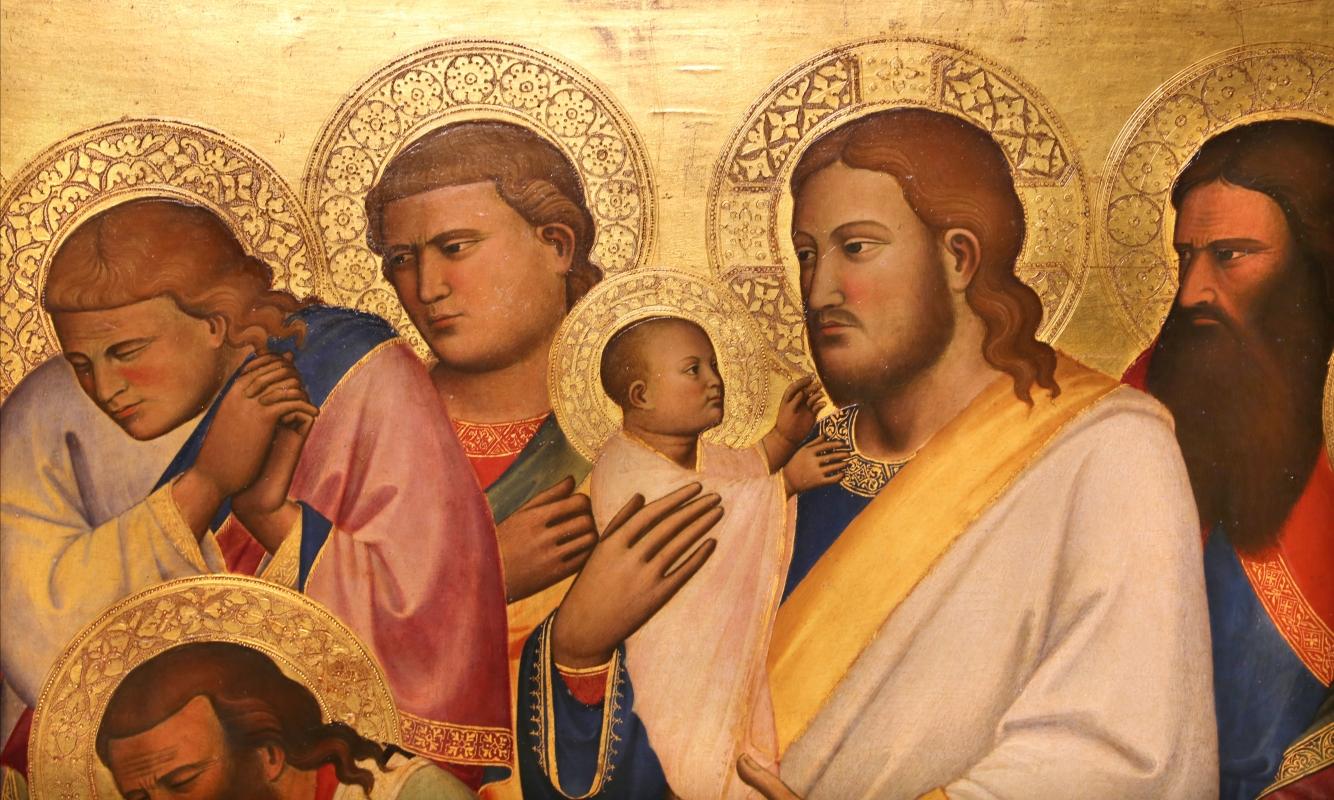 Niccolò di pietro gerini, Dormitio e Assunzione della Vergine, 1370-75 circa (parma, gn) 05 animula - Sailko - Parma (PR)