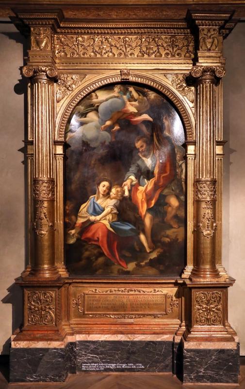 Correggio, madonna della scodella (riposo durante la fuga in egitto), 01 - Sailko - Parma (PR)