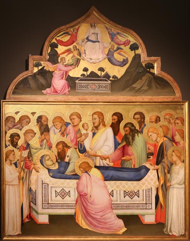 Niccolò di pietro gerini, Dormitio e Assunzione della Vergine, 1370-75 circa (parma, gn) 02 - Sailko - Parma (PR)