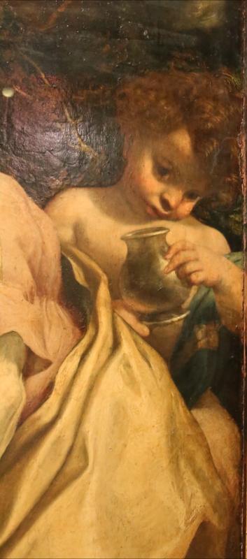 Correggio, madonna di san girolamo, o il giorno, 1528 ca. 06 angioletto - Sailko - Parma (PR)