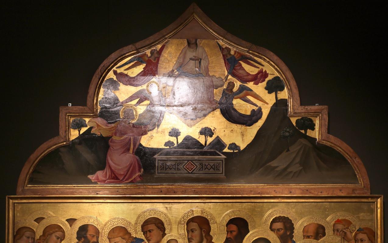 Niccolò di pietro gerini, Dormitio e Assunzione della Vergine, 1370-75 circa (parma, gn) 04 - Sailko - Parma (PR)