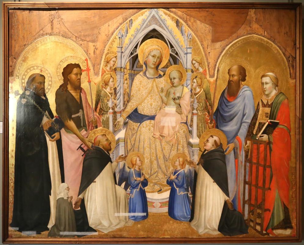 Agnolo gaddi, madonna in trono e santi, 1375, da s.m. novella qa firenze, 01 - Sailko - Parma (PR)