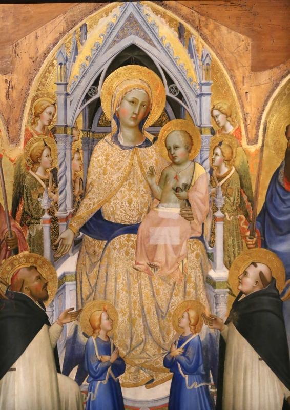 Agnolo gaddi, madonna in trono e santi, 1375, da s.m. novella qa firenze, 04 - Sailko - Parma (PR)