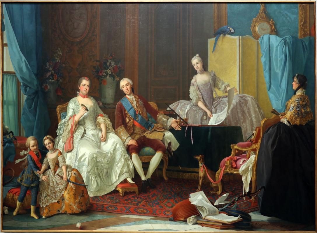 Giuseppe baldrighi, la famiglia di don filippo di borbone - Sailko - Parma (PR)