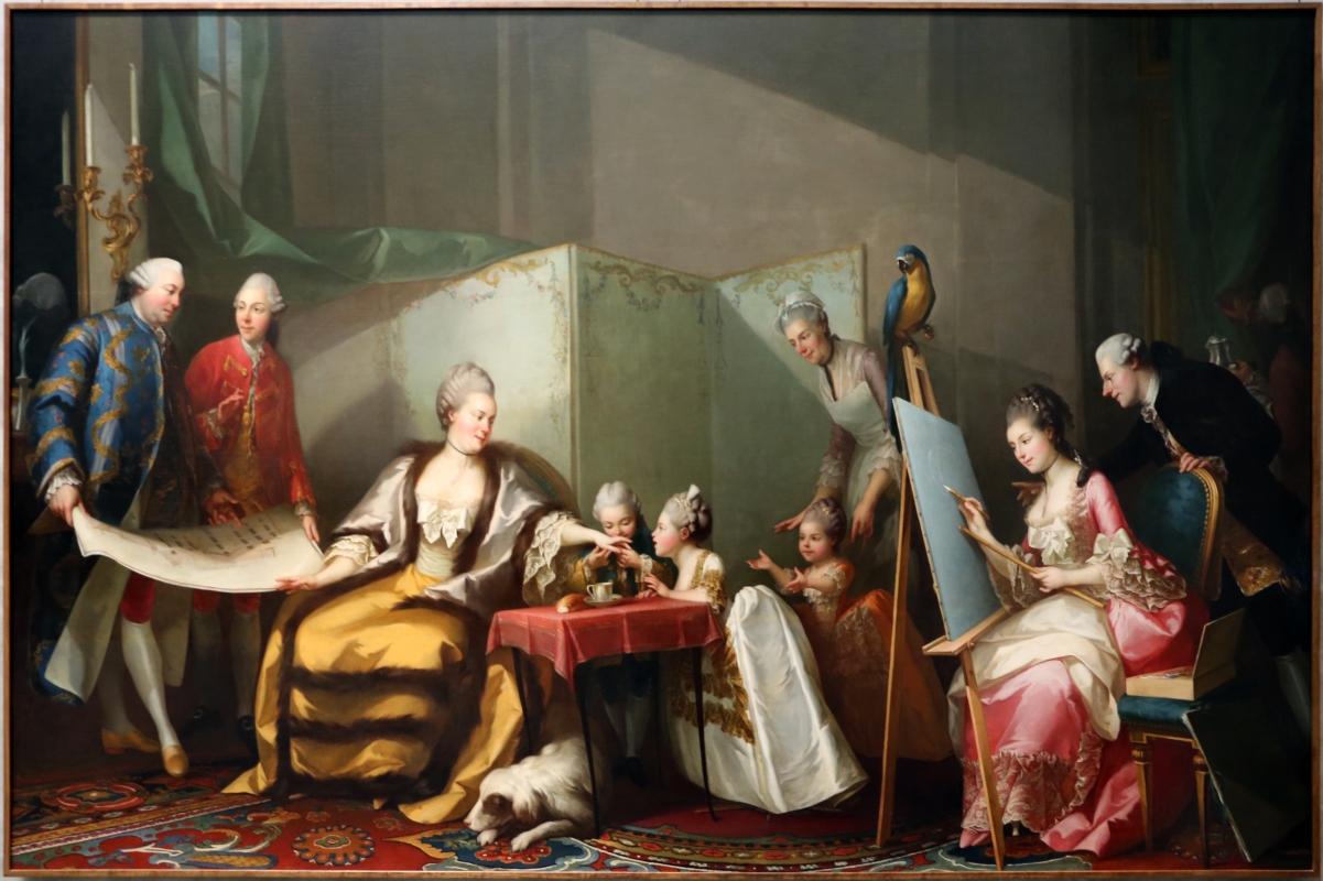 Giuseppe baldrighi, ritratto della famiglia ducale di parma - Sailko - Parma (PR)