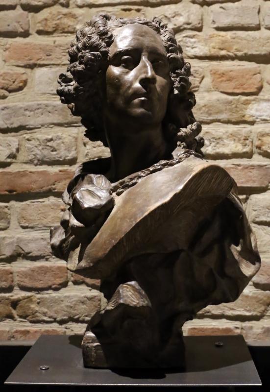 Jean-baptiste lemoyne II, busto del pittore noel-nicolas coypel, - Sailko - Parma (PR)