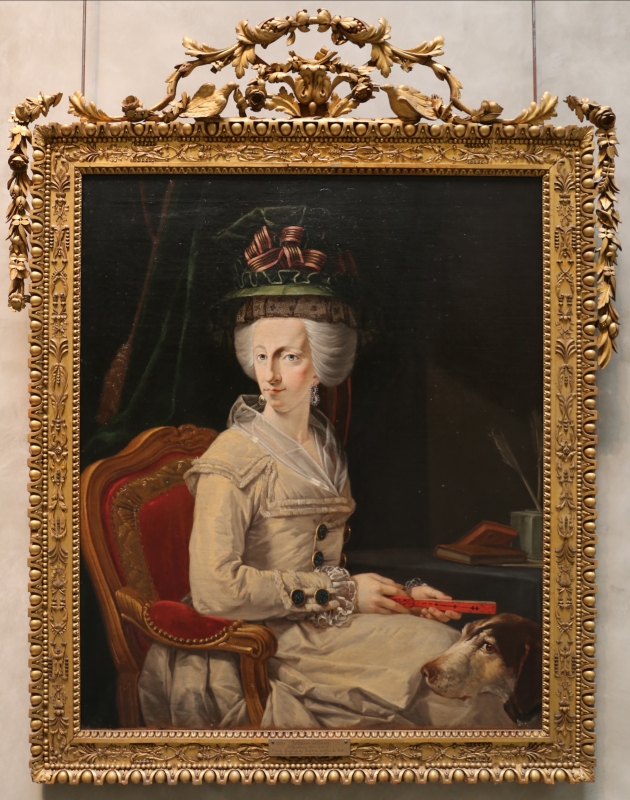 Johann zoffany, duchessa maria amalia d'austria, 01 - Sailko - Parma (PR)