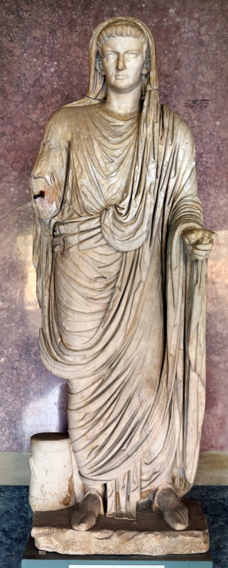 Statue della famiglia giulio claudia, dal foro di veleia, 14-54 dc ca., caligola - Sailko - Parma (PR)