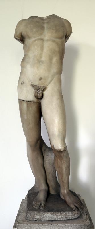 Arte romana, statua di efebo - Sailko - Parma (PR)