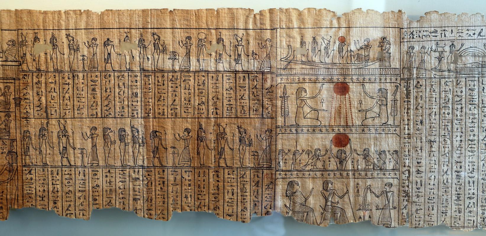 II dominazione persiana-epoca tolemaica, libro dei morti di harimuthes, da tebe, 03 - Sailko - Parma (PR)