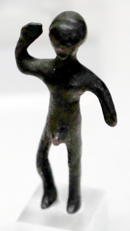 Bronzetti etruschi con laran (marte) in assalto, 03 - Sailko - Parma (PR)
