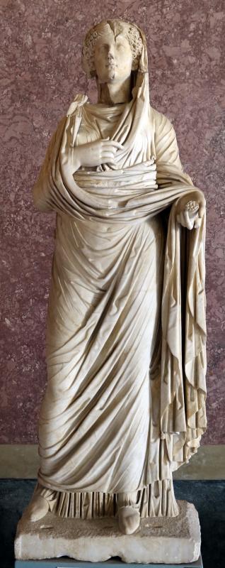 Statue della famiglia giulio claudia, dal foro di veleia, 14-54 dc ca., agrippina maggiore - Sailko - Parma (PR)